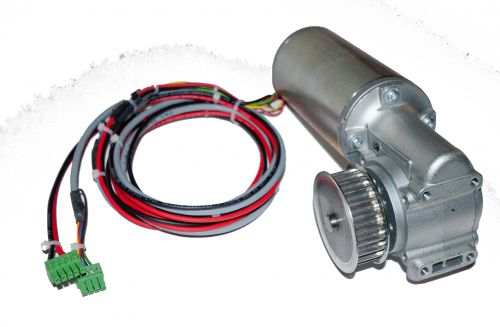DC02 Dunkermotor with Pulley & Leads
